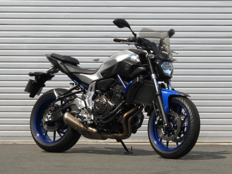 USED BIKE YAMAHA MT-07 入荷!
